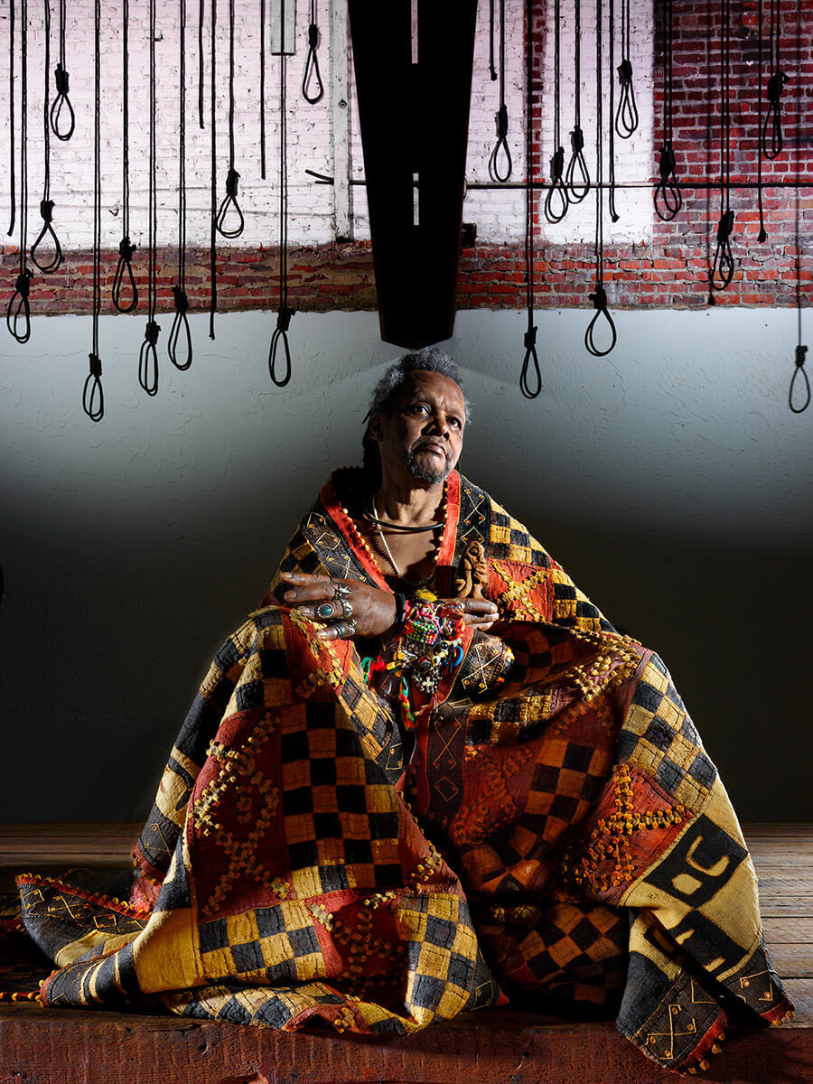 Lonnie Holley, sculptor and musician