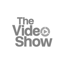 The Video Show Logo Grayscale SQUARE TRA