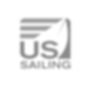 US Sailing Logo Grayscale SQUARE TRANSPA