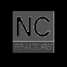 NC Realtors Logo Grayscale SQUARE TRANSP