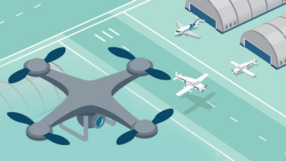 Sharing the Skies with Drones. Parnda Hedima Aviation. Introducing pilots to Drones in the Airspace