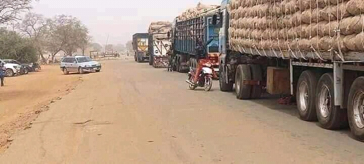 Nigerian food blockade - Parnda Hedima