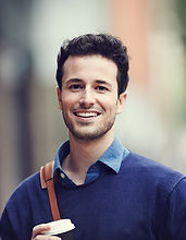 Man with Blue Sweater
