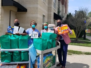 Charities Donate Toiletries to Bowie State University