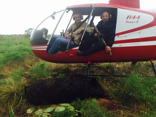 The Fall Helicopter Hog Hunting Kickoff