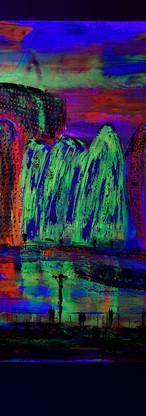 Tina Reichel mit UV-Licht