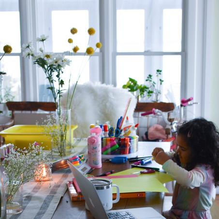 Setting An Invitation To Play & Mother's Day Crafts