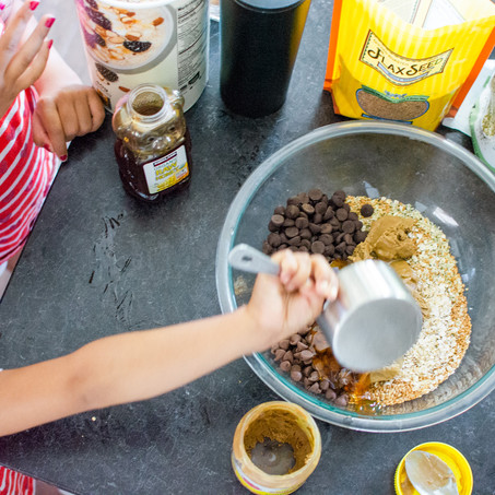 Oatmeal & Chocolate Bites for Nursing Mamas