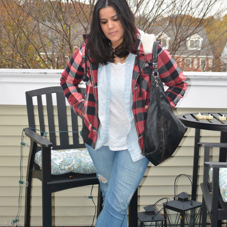 {What I Wore: Jeans and a Tee and a side of Thoughts}