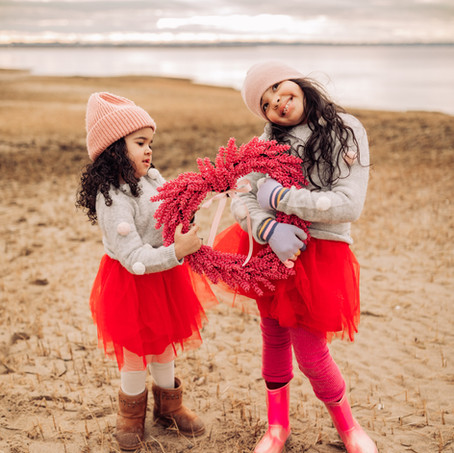 Valentine's Day & How We Approach It With Our Girls + Crafts