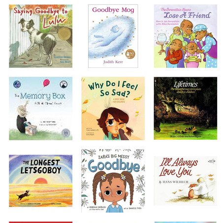 Books For Kids On Losing a Pet