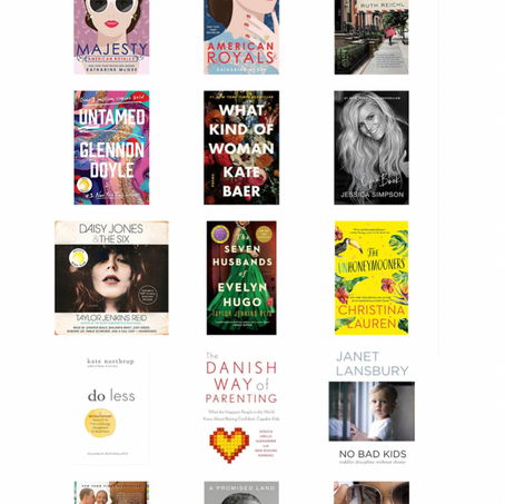 Books I've Listened To Lately