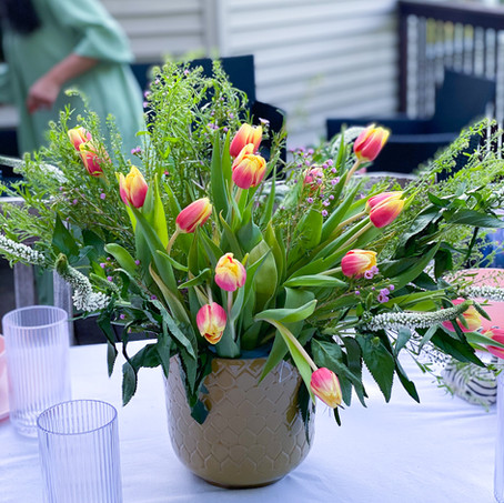 Easy Floral Arrangement Tip For A Pro Look