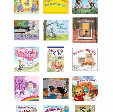 Books on Moving & Change For Kids