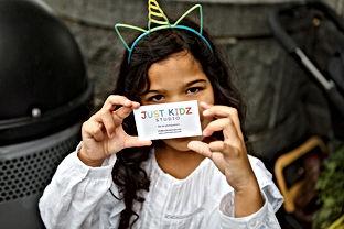 Zoe and Biz Cards.JPG