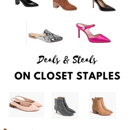 Deals & Steals on Staples - Shoes