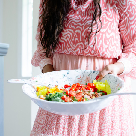 Fresh & FlavorFUL Summer Chickpea Salad