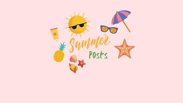 Copy of Summer Checklist Illustration In