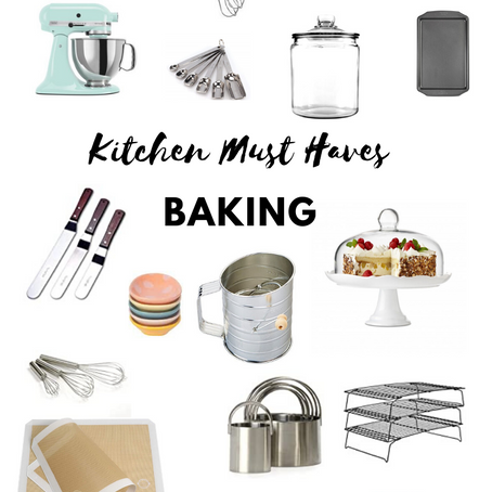 Kitchen Must Haves For Baking