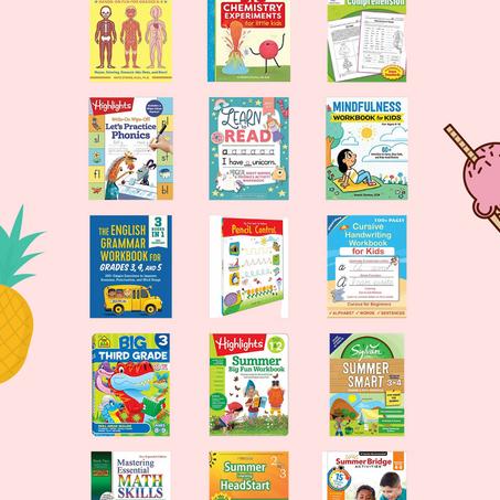 Summer Slide: Favorite Workbooks/Books For Summer Learning