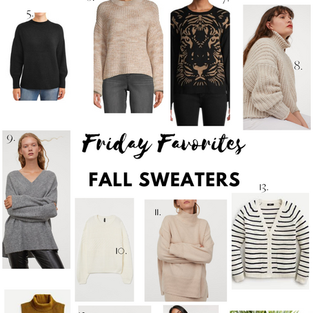 Fall Sweaters Perfect for Zoom Life