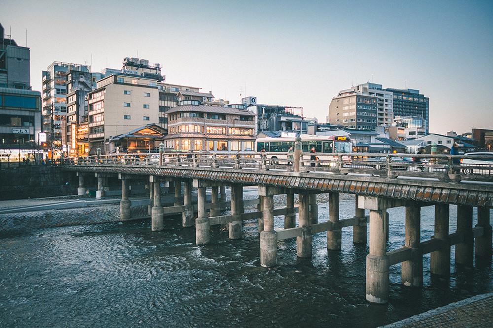 Kyoto Walking Tour: Sanjo-Ohashi (Bridge)