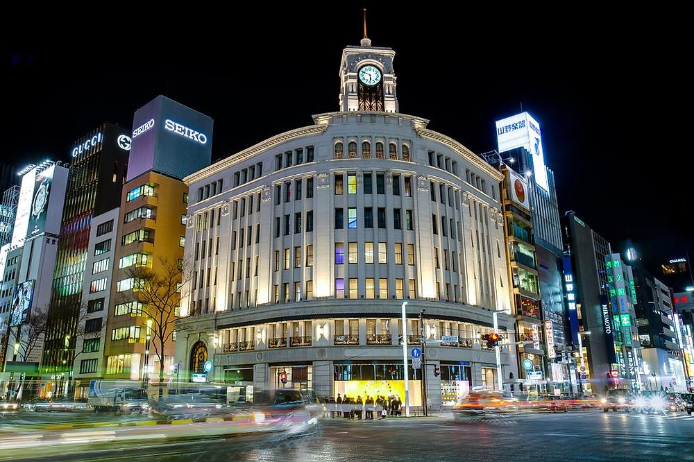 Walking Tours in Tokyo  |  Vegetarian Food In Japan
