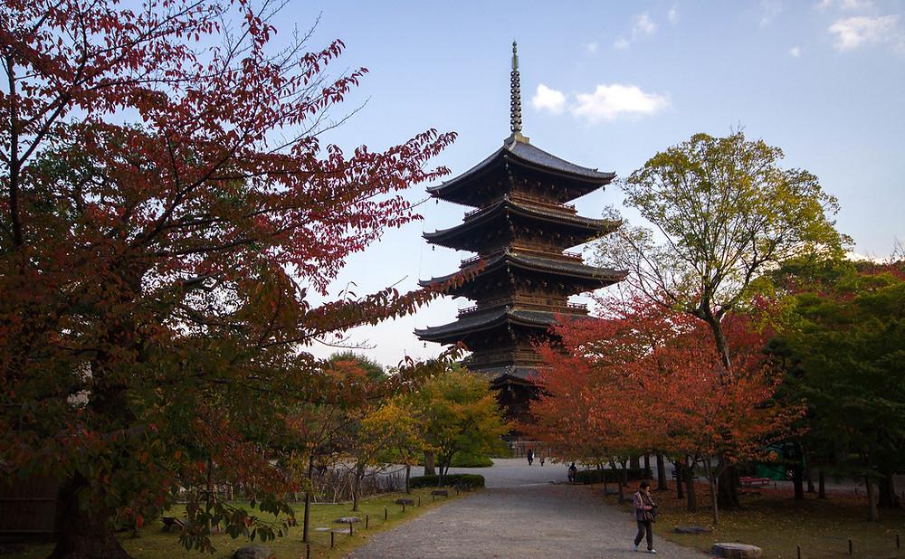 Toji Pagoda - Walking Tour Kyoto