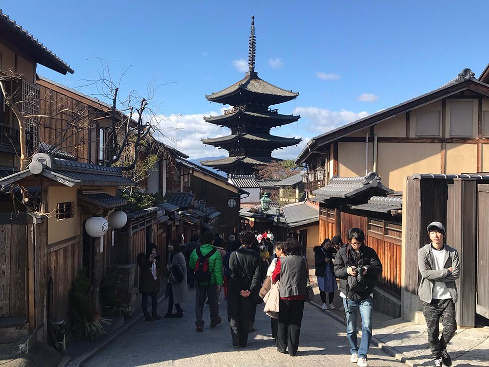 Walking Tour in Kyoto