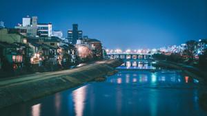 Kamo Gawa River Side