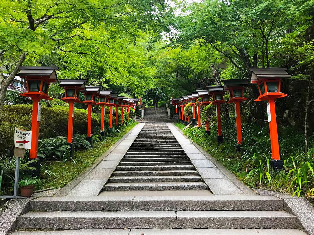 Kifune Shrine - Walking Tour Kyoto