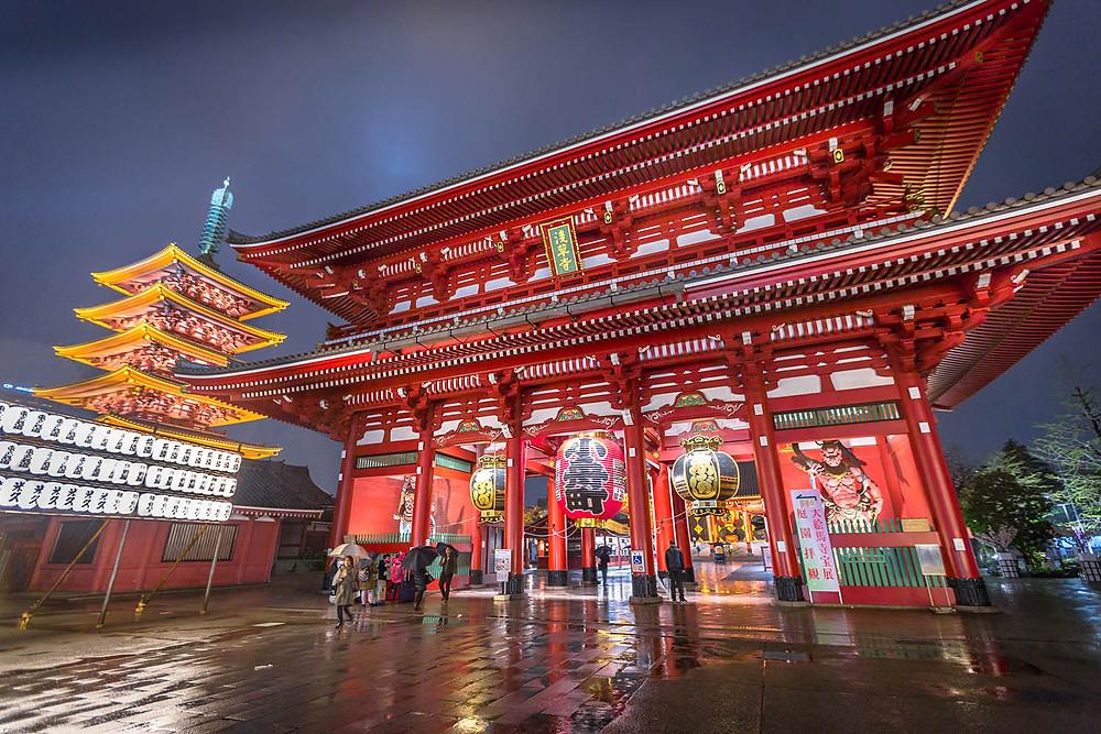 Sensoji Temple | Walking Tour Tokyo