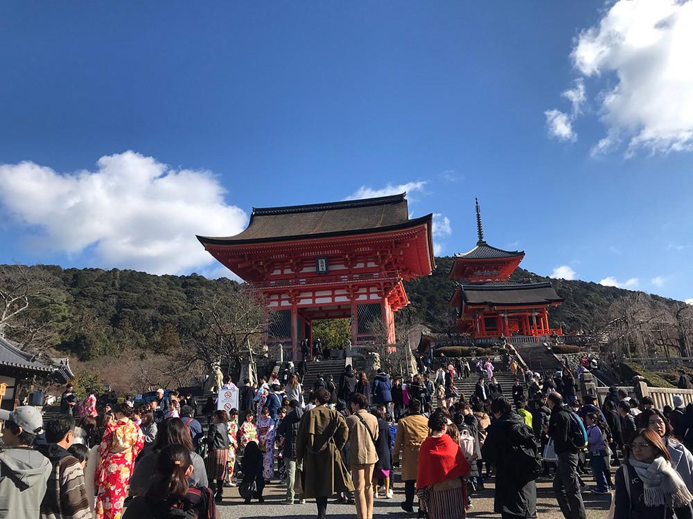 Walking Tour Kyoto - Kiyomizu Temple