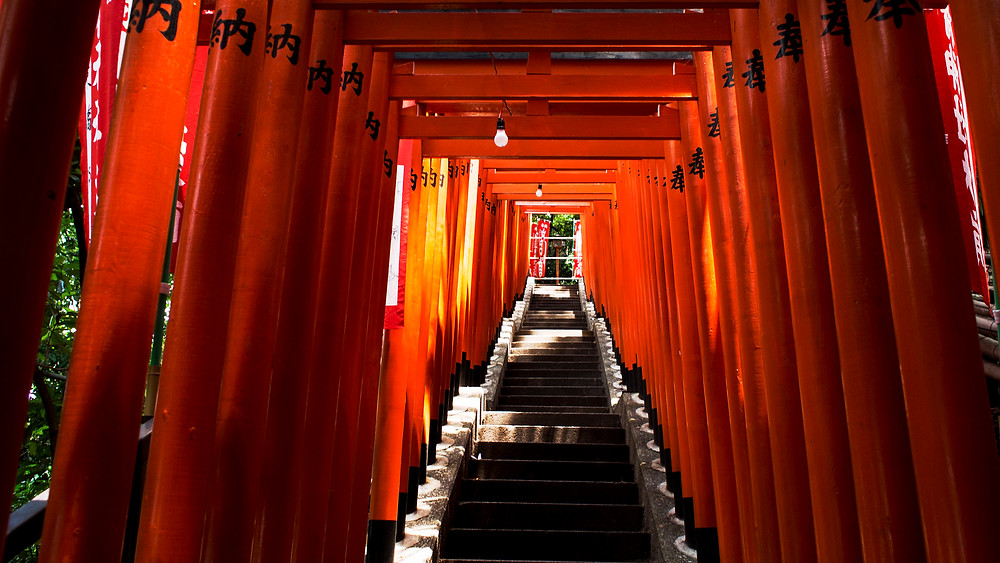 Temples and Shrines in Tokyo, Japan. Walking Tours in Tokyo.