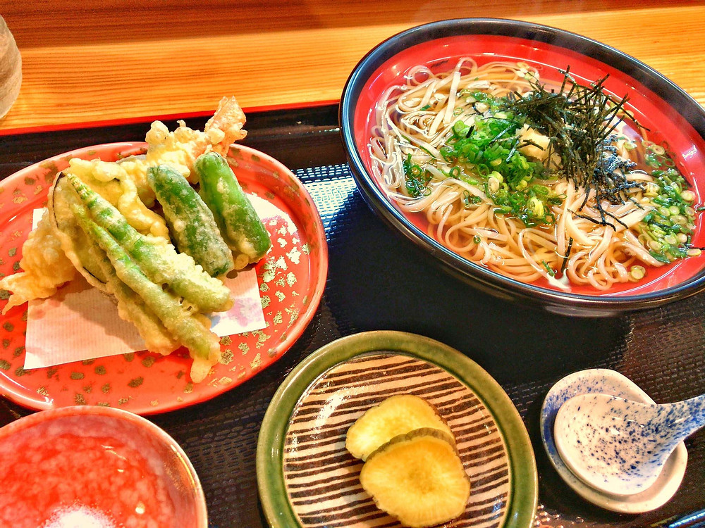 Walking Tours in Tokyo  |  Vegetarian Food In Japan
