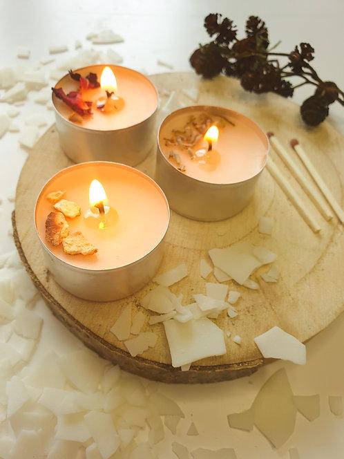 Aromatherapy tealight testers