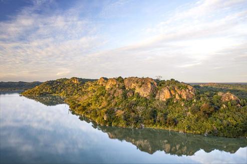 Singita Pamushana Lodge Malilangwe Dam.j