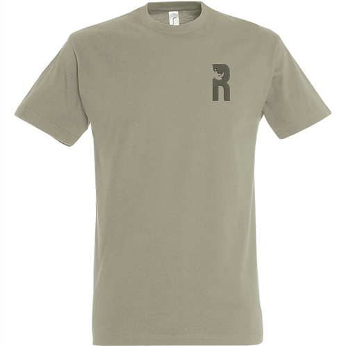 For Rangers Adventures T-shirt with Embroidered Logo - Bottle Green