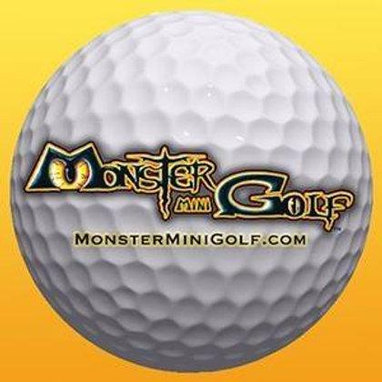 MONSTER MINI GOLF $8 GIFT CARD