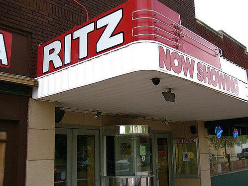 RITZ CINEMA RENSSELAER - PAIR OF TICKETS