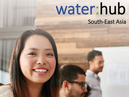 The water:hub South-East Asia is going to be launched on 1st of June!