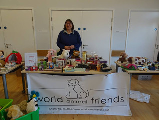 £490 raised at Christmas Fair