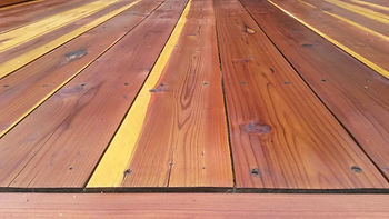 Refinish Restore Restoration Fix Repair Wood Deck Redwood Ipe Cedar Mahogany Sand Sanding