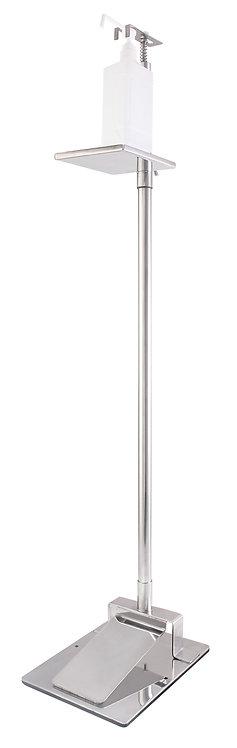 コンパクト型足踏み式消毒液スタンド 踏んでるくん1 SD-1113-JP