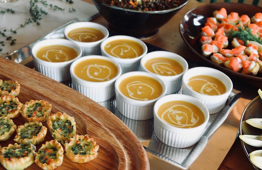 chef organic tahoe butternut squash soup