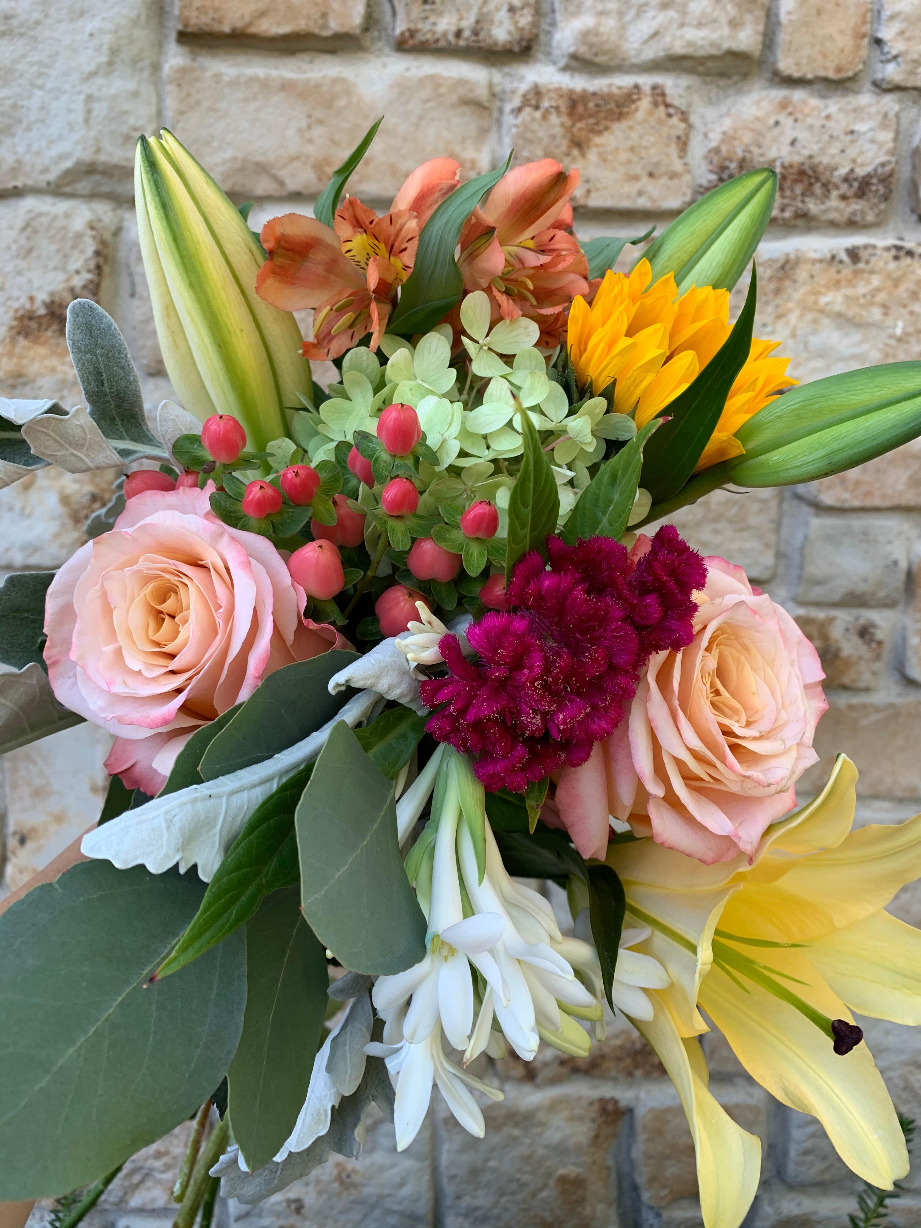 Autumn Abundance Flower Arranging Class
