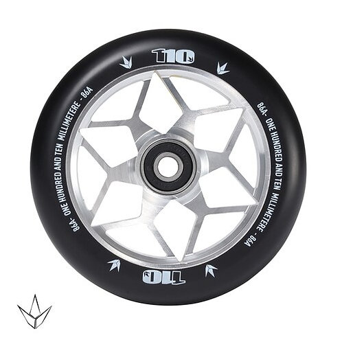 Envy - Diamond Wheels - Silver - 110mm