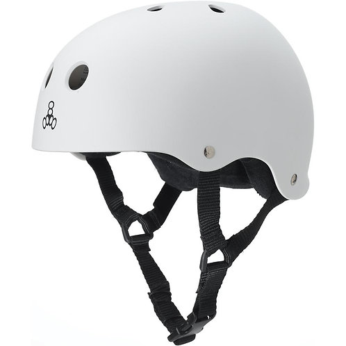 Triple 8 - Sweatsaver Helmet - White/Black