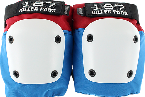 187 Killer Pads - Fly Knee - Red/White