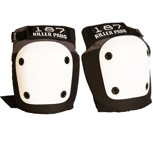 187 Killer Pads - Fly Knee - White/Grey